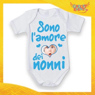 BODY BIANCO SONO L'AMORE DEI NONNI BLU