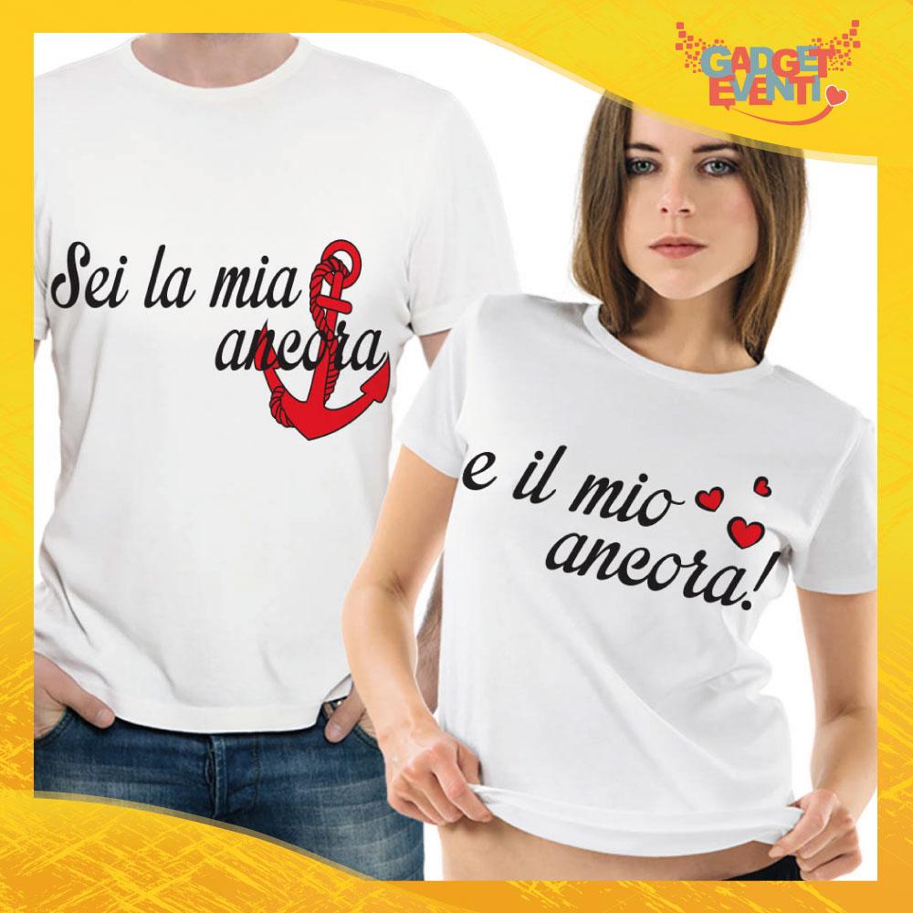 """T-Shirt Coppia Maglietta """"Sei la Mia Ancora"""" Gadget Eventi"""