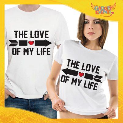"T-Shirt Coppia Maglietta ""Love of My Life"" Gadget Eventi"