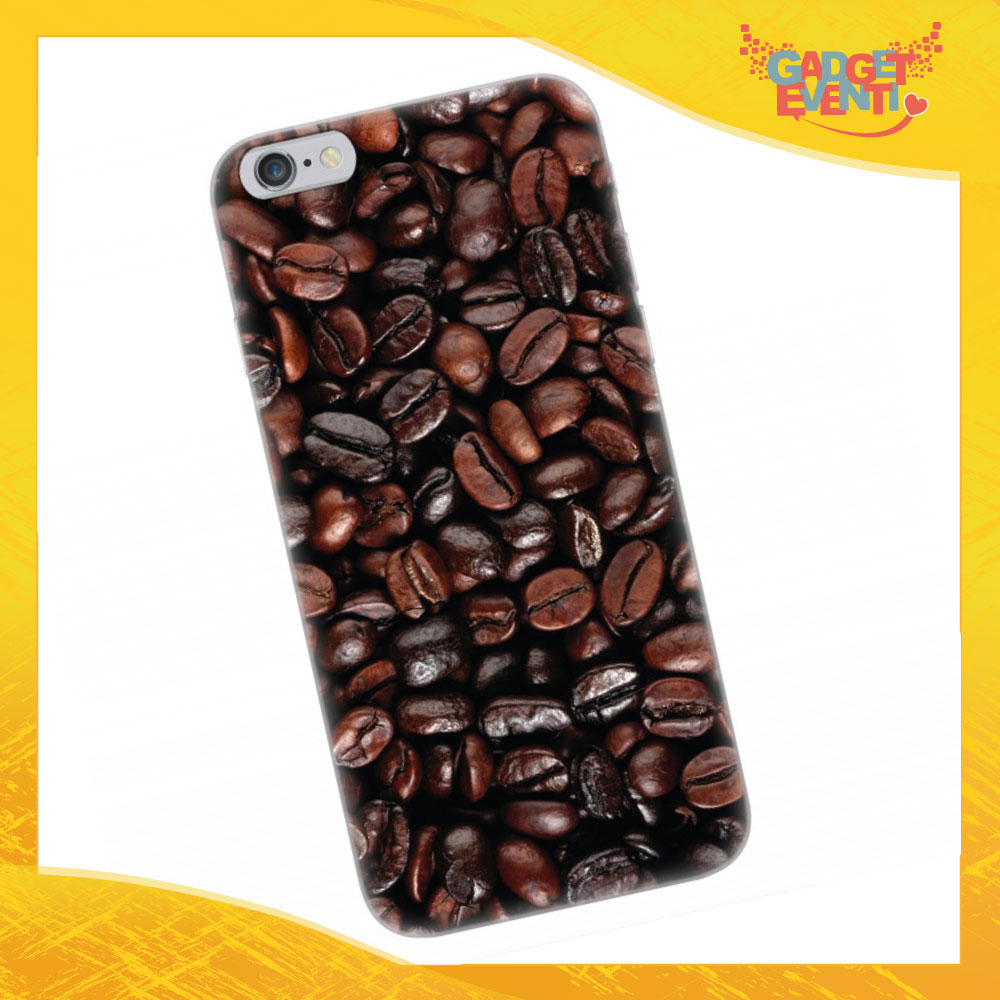 """Cover Smartphone """"Chicchi di caffè""""Gadget Eventi"""