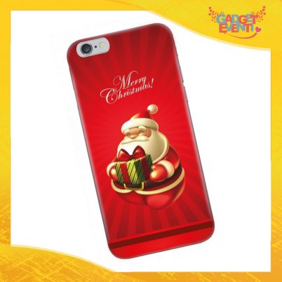 """Cover Smartphone Natale Cellulare Tablet """"Babbo NAtale"""" Gadget Eventi"""