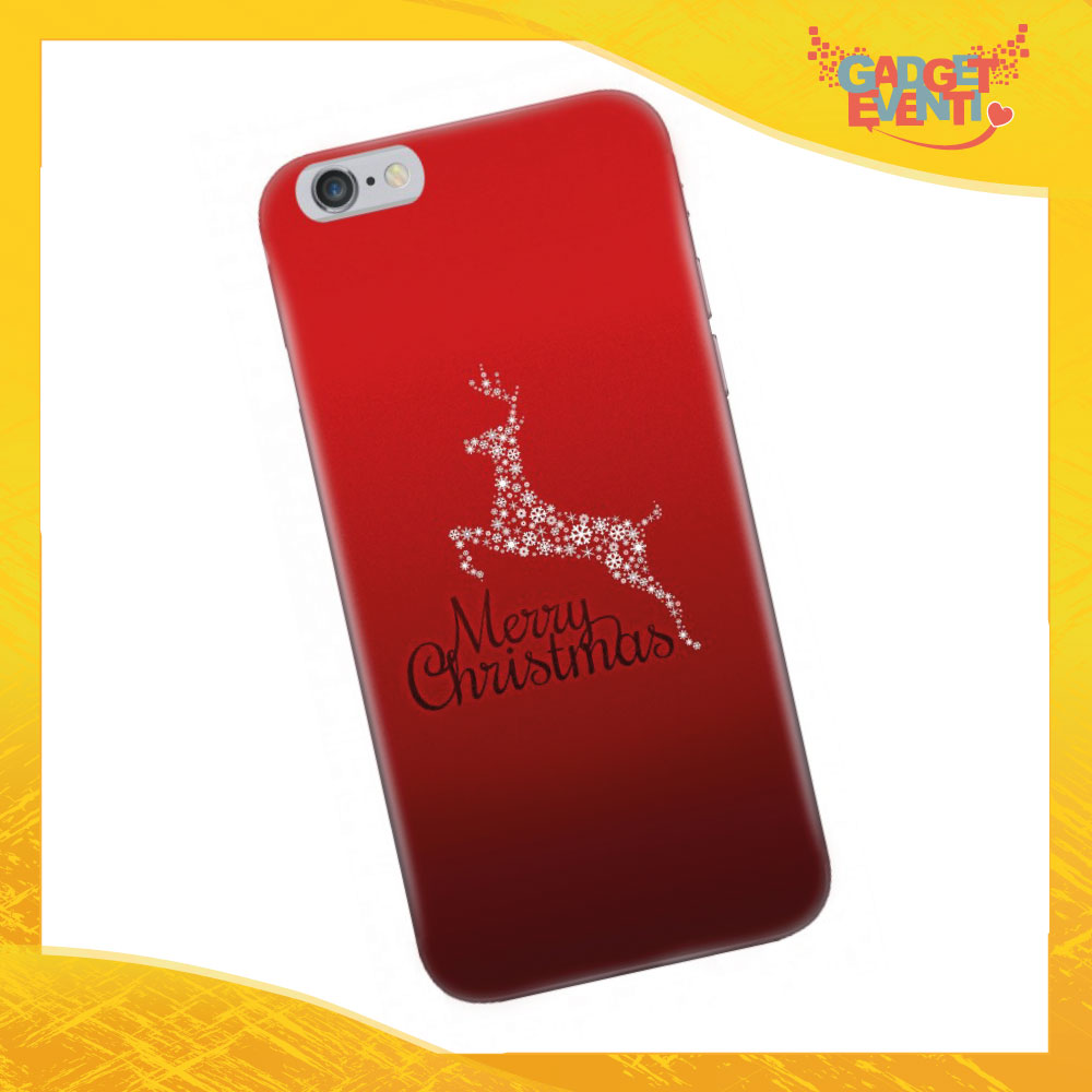 "Cover Smartphone Natale Cellulare Tablet ""Merry Christmas"" Gadget Eventi"