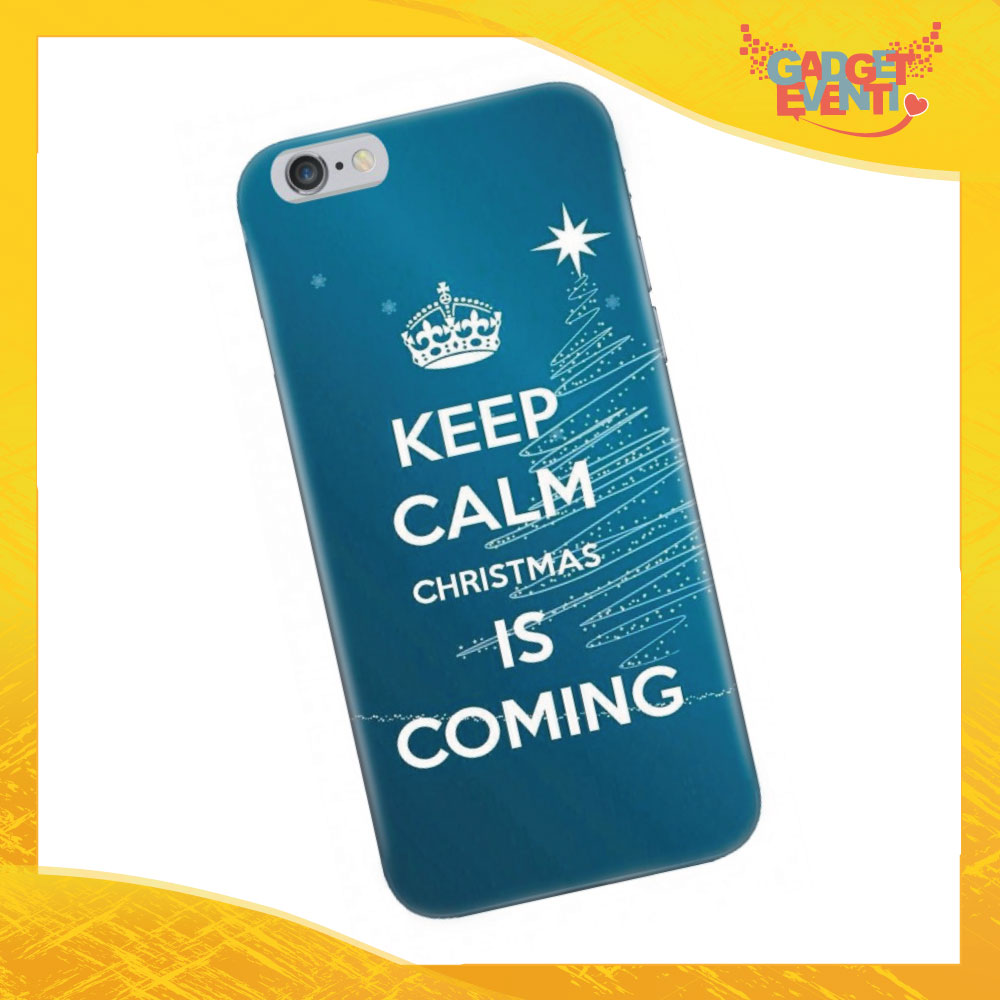 "Cover Smartphone Natale ""Keep Calm"""