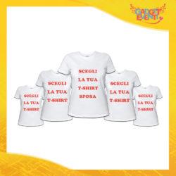 Pacchetto T-Shirt Magliette Addio al Nubilato Gadget Eventi