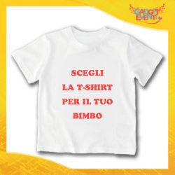 Scegli la tua T-Shirt Bimbo Gadget Eventi