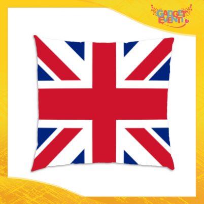 """Cuscino Quadrato Divano Letto Poltrona """"England"""" Gadget Eventi"""
