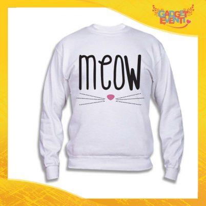 "Felpa Unisex Adulto ""Meow"" Gadget Eventi"
