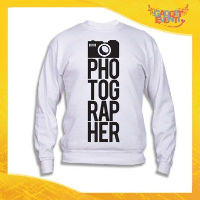 "Felpa Unisex Adulto ""Photographer"" Gadget Eventi"