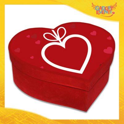 """Scatola a Cuore Rosso San Valentino Love """"Pendant Heart"""" Gadget Eventi"""