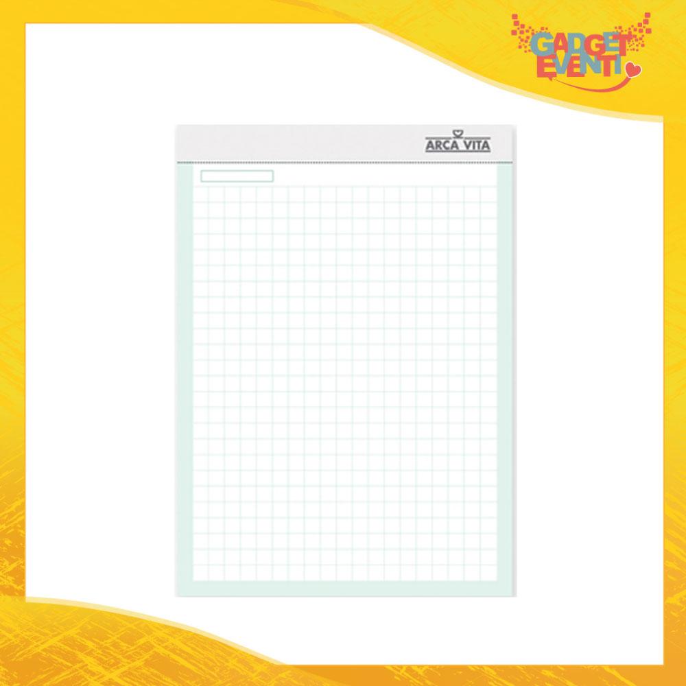 """Block Notes """"Blocco A4 Quadretti"""" Materiale per Ufficio e Affari Gadget Eventi"""