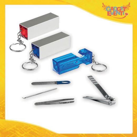"Portachiavi Aziendale Set Manicure ""Mild"" Gadget Eventi"