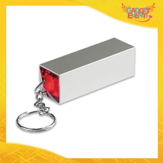 "Portachiavi Aziendale Rosso Set Manicure ""Mild"" Gadget Eventi"