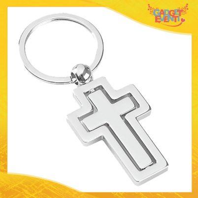 """Portachiavi ad anello """"Cross"""" Gadget Eventi"""