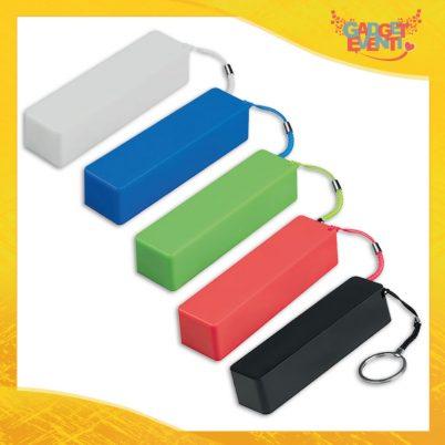 """Batteria da Viaggio Power Bank """"Laccetto Energy"""" Ricarica Smartphone Tablet Gadget Eventi"""