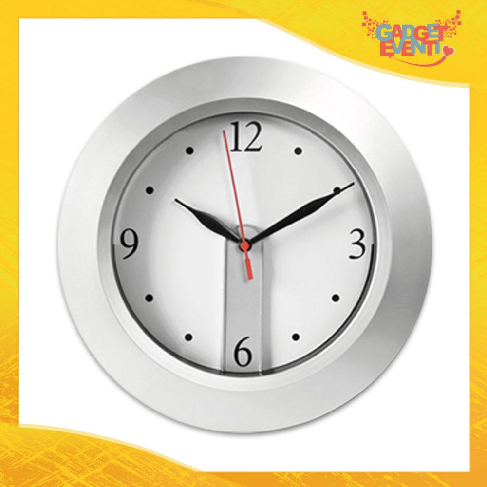 """Orologio a Parete """"Hours"""" quadrante personalizzabile Gadget Eventi"""