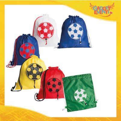 """Zaino Borsa Sportiva """"Sacca Soccer"""" Sport tempo libero calcio Gadget Eventi"""