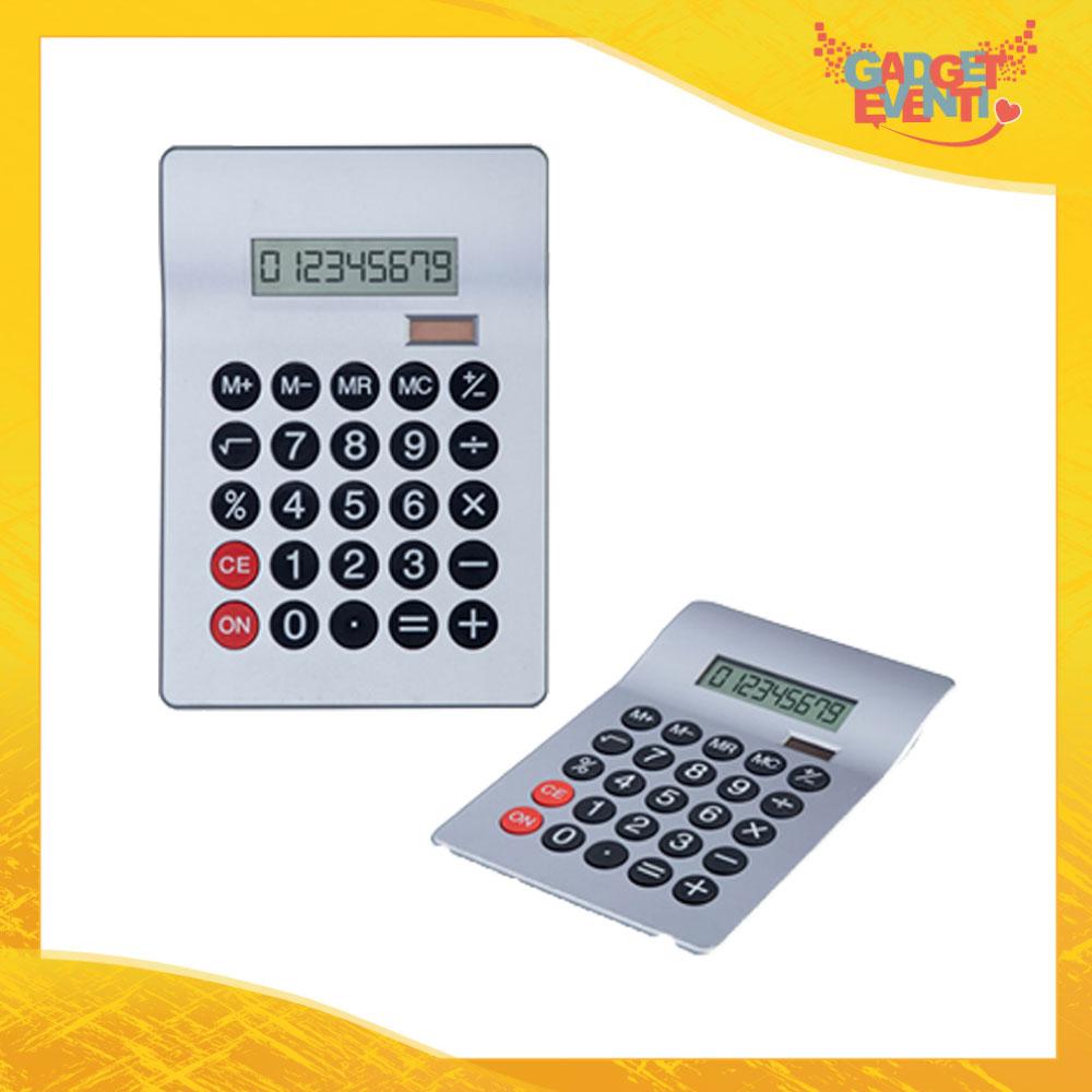 """Calcolatrice Solare """"Calcola"""" Gadget Eventi"""