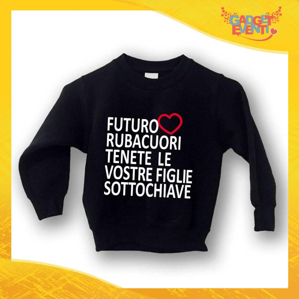 "Felpa Bambino Baby ""Futuro Rubacuori"" Gadget Eventi"