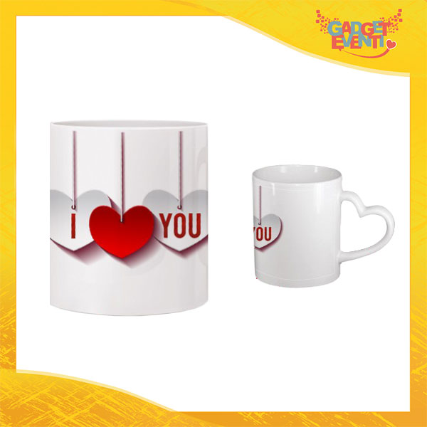 "Tazza dell'Amore ""Pendant Love You"" San Valentino Gadget Eventi"