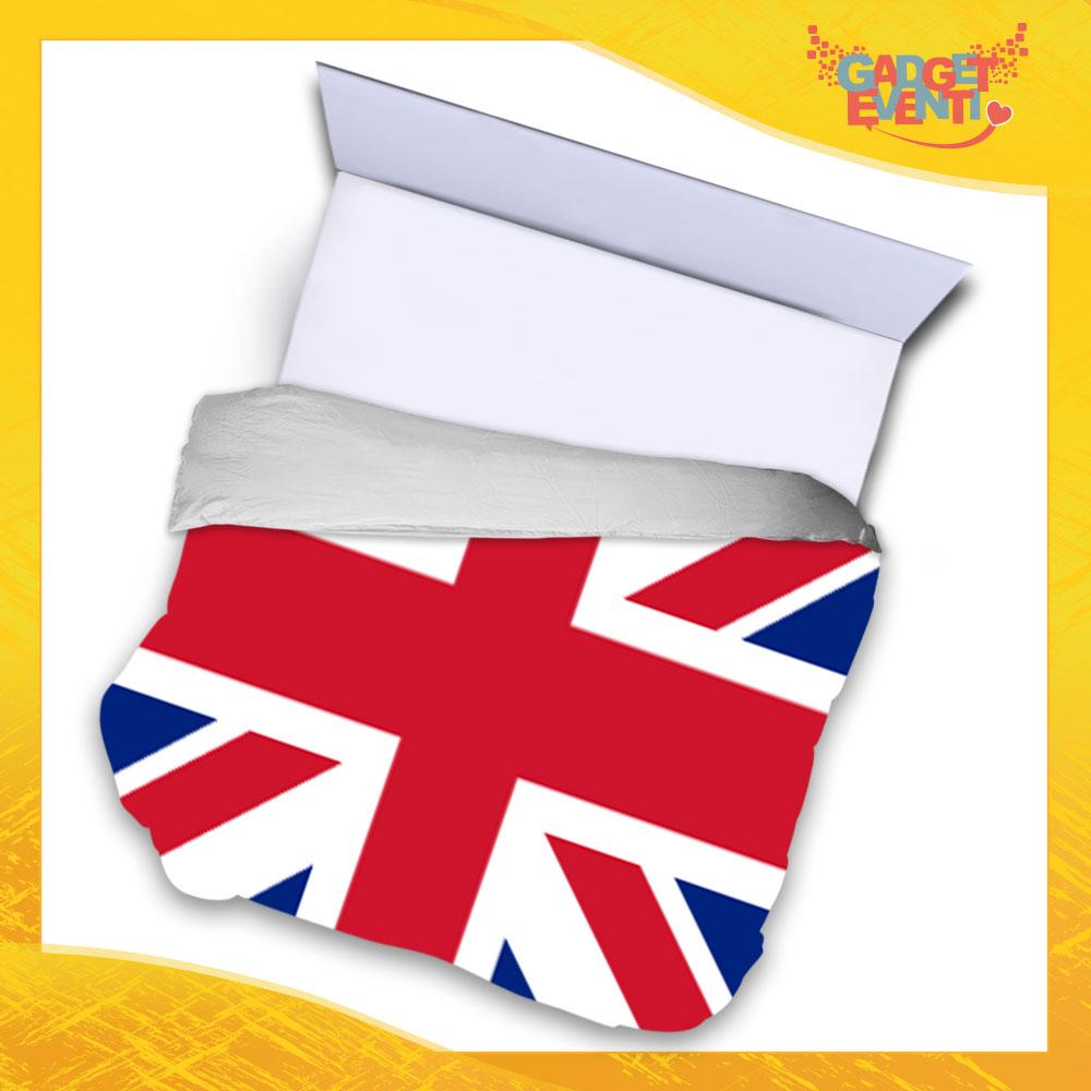 """Copripiumino Matrimoniale Biancheria da Letto """"England"""" Gadget Eventi"""