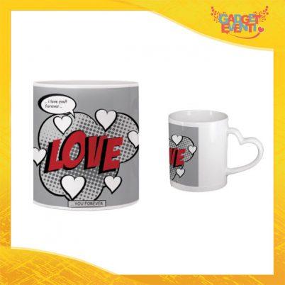 """Tazza dell'Amore """"Love Hearts"""" San Valentino Gadget Eventi"""