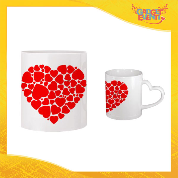 "Tazza dell'Amore ""Red Heart"" San Valentino Gadget Eventi"