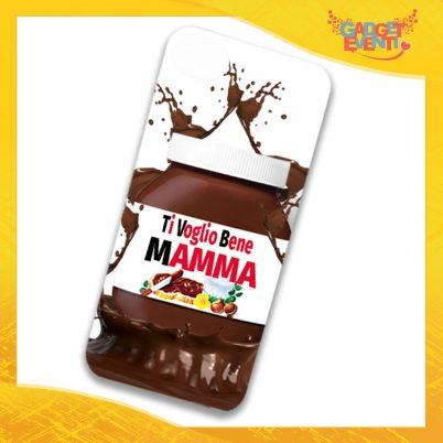 """Cover Smartphone Cellulare Tablet """"Ti voglio bene mamma Cioccolato"""" Gadget Eventi"""