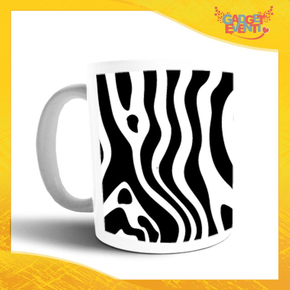 """Tazza Colazione Breakfast """"Zebra"""" Gadget Eventi"""