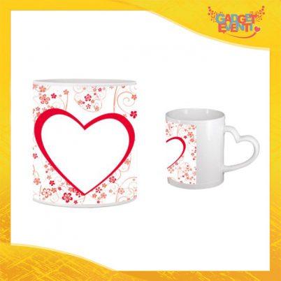 """Tazza dell'Amore """"White Heart"""" San Valentino Gadget Eventi"""