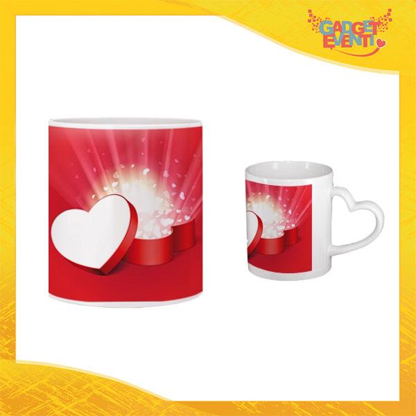 """Tazza dell'Amore """"Heart Box"""" San Valentino Gadget Eventi"""