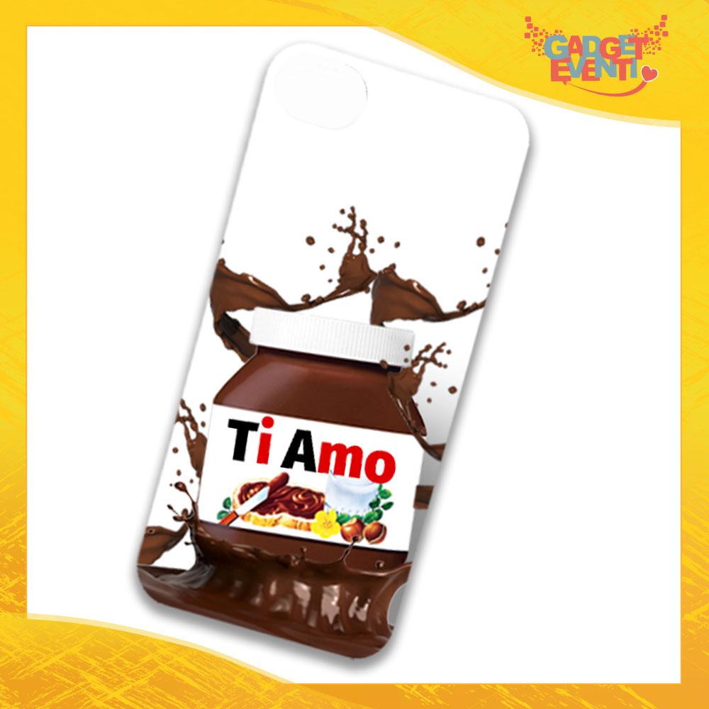 """Cover Smartphone Cellulare Tablet """"Ti Amo Cioccolato"""" San Valentino Gadget Eventi"""