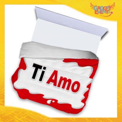 """Copripiumino Matrimoniale Biancheria da Letto """"Ti Amo Bar"""" San Valentino Gadget Eventi"""