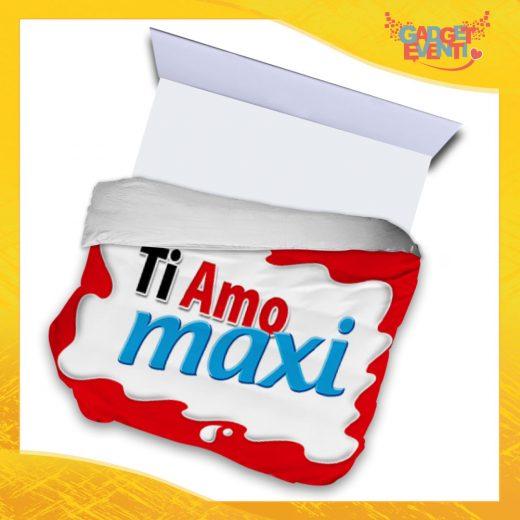 """Copripiumino Matrimoniale Biancheria da Letto """"Ti Amo Bar Maxi"""" San Valentino Gadget Eventi"""