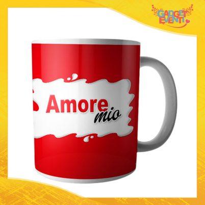"""Tazza dell'Amore Colazione Breakfast """"Amore Mio Bar"""" San Valentino Gadget Eventi"""