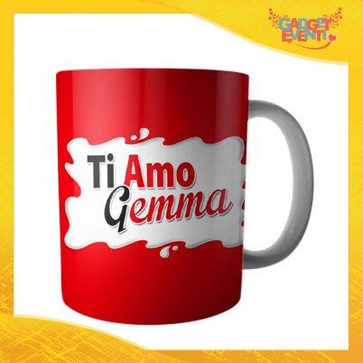 """Tazza dell'Amore Colazione Breakfast """"Ti Amo Nome Personalizzato Bar"""" San Valentino Gadget Eventi"""