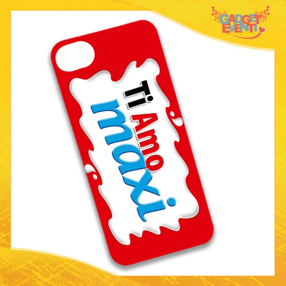 """Cover Smartphone Cellulare Tablet """"Ti Amo Bar Maxi"""" San Valentino Gadget Eventi"""