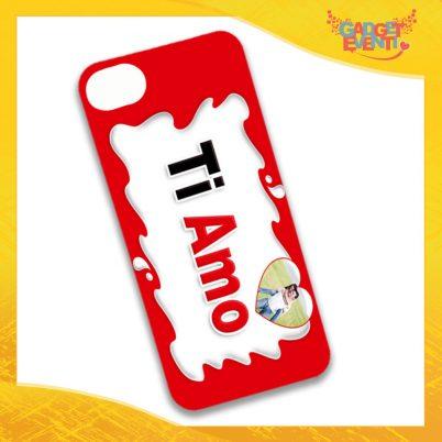 """Cover Smartphone Cellulare Tablet """"Ti Amo con Foto Bar"""" San Valentino Gadget Eventi"""