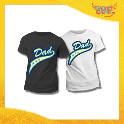 "Maglietta T-Shirt Regalo Festa del Papà ""Dad Superstar"" Gadget Eventi"
