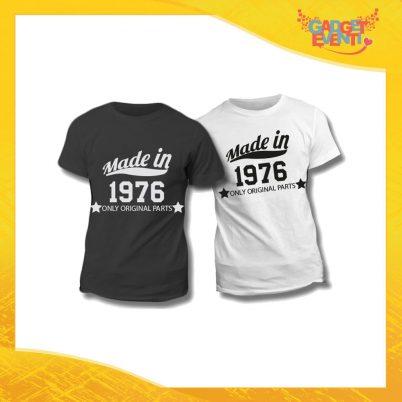 """Maglietta T-Shirt Regalo Festa del Papà """"Made In Year"""" Gadget Eventi"""