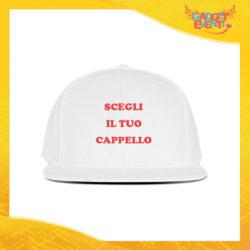 Scegli il tuo Cappello Ricamato Berretto Snapback Visiera Larga Gadget Eventi