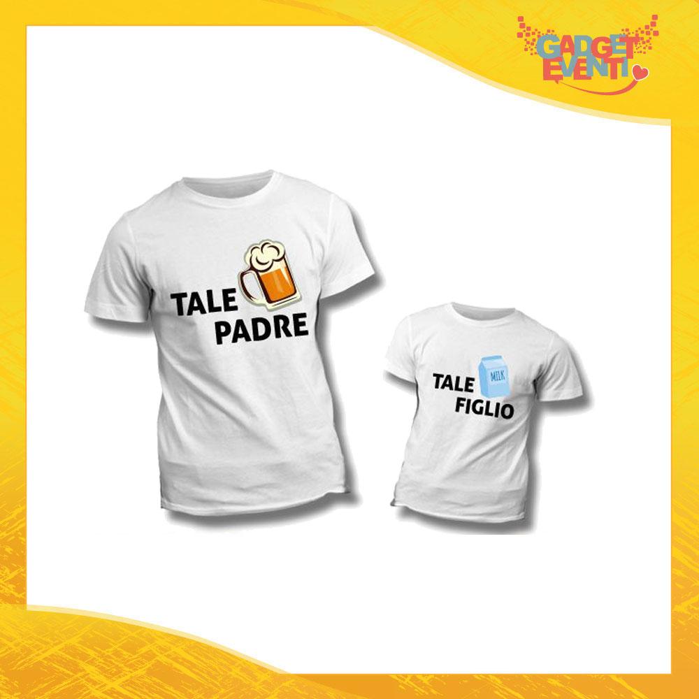 Eventi iMage T-Shirt Coppia pap/à Figlio Batterie Festa del pap/à