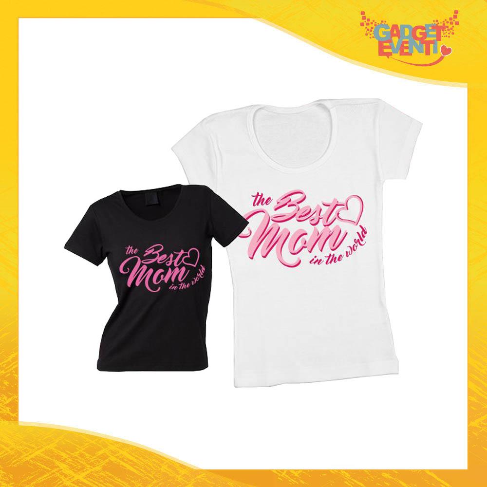 """Maglietta, t-shirt idea regalo festa della mamma """"Best Mom"""" - Gadget Eventi"""
