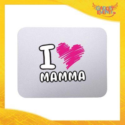 """Mouse Pad femminuccia """"Love Cuore"""" tappetino pc ufficio idea regalo festa della mamma gadget eventi"""