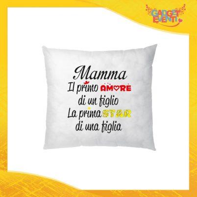"""Cuscino Quadrato """"La Prima Star"""" Idea Regalo Festa della Mamma Gadget Eventi"""