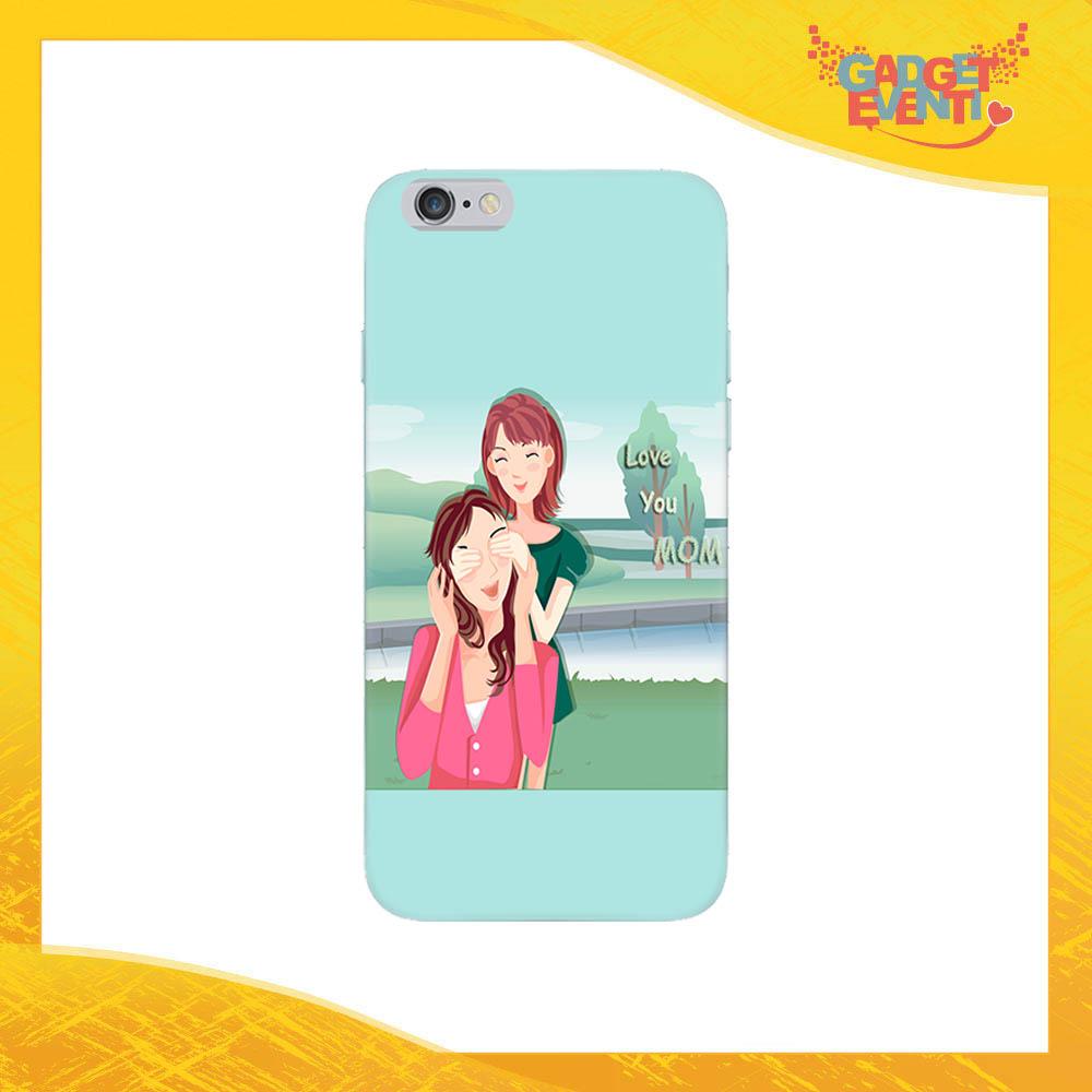 """Cover Smartphone """"Love You Mom"""" Protezione per Cellulare Festa della Mamma Idea Regalo Gadget Eventi"""