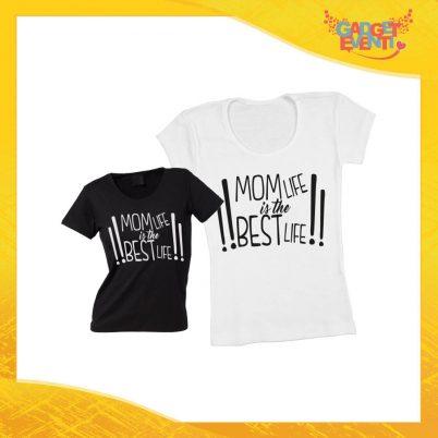 """Maglietta, t-shirt idea regalo festa della mamma """"Mom Life"""" - Gadget Eventi"""