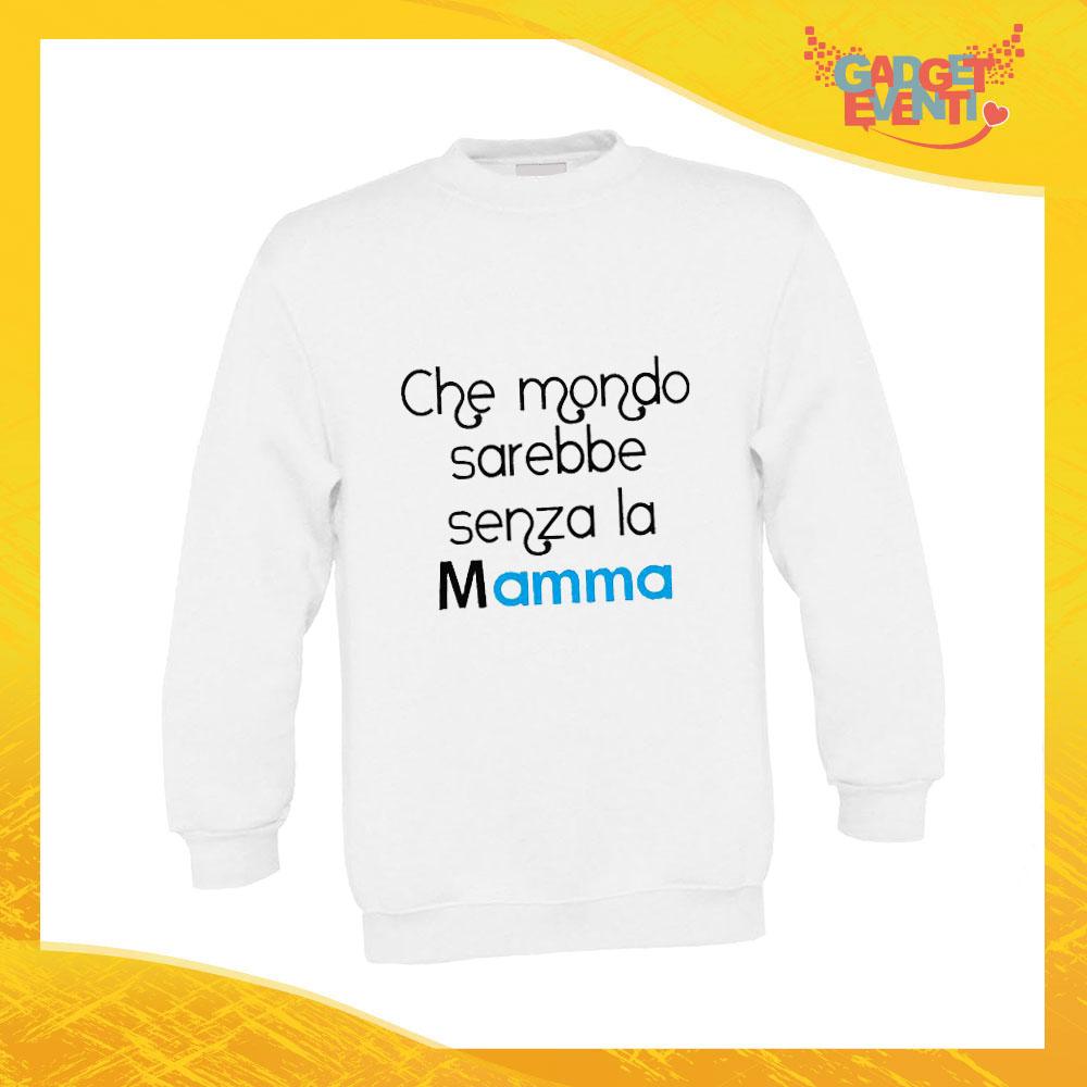 Tazza bianca personalizzata CHE MONDO SAREBBE.. FESTA DELLA MAMMA