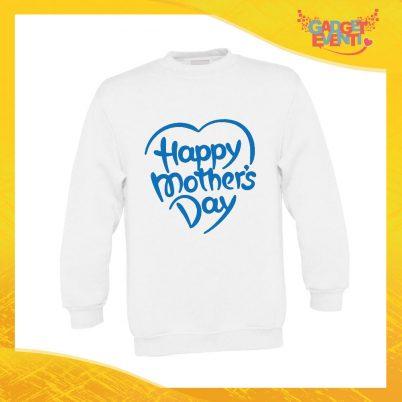 """Felpa Bimbo Maschietto """"Mother's Day"""" Bambino Bambina Bimbi Idea Regalo Festa della Mamma Gadget Eventi"""