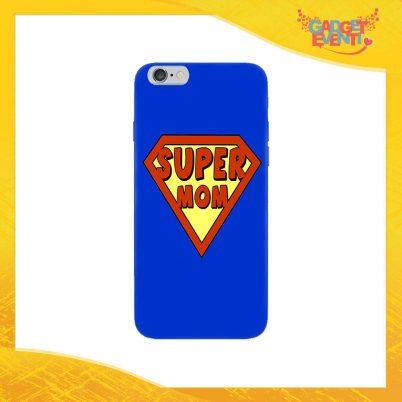 """Cover Smartphone """"Super Mom"""" Protezione per Cellulare Festa della Mamma Idea Regalo Gadget Eventi"""