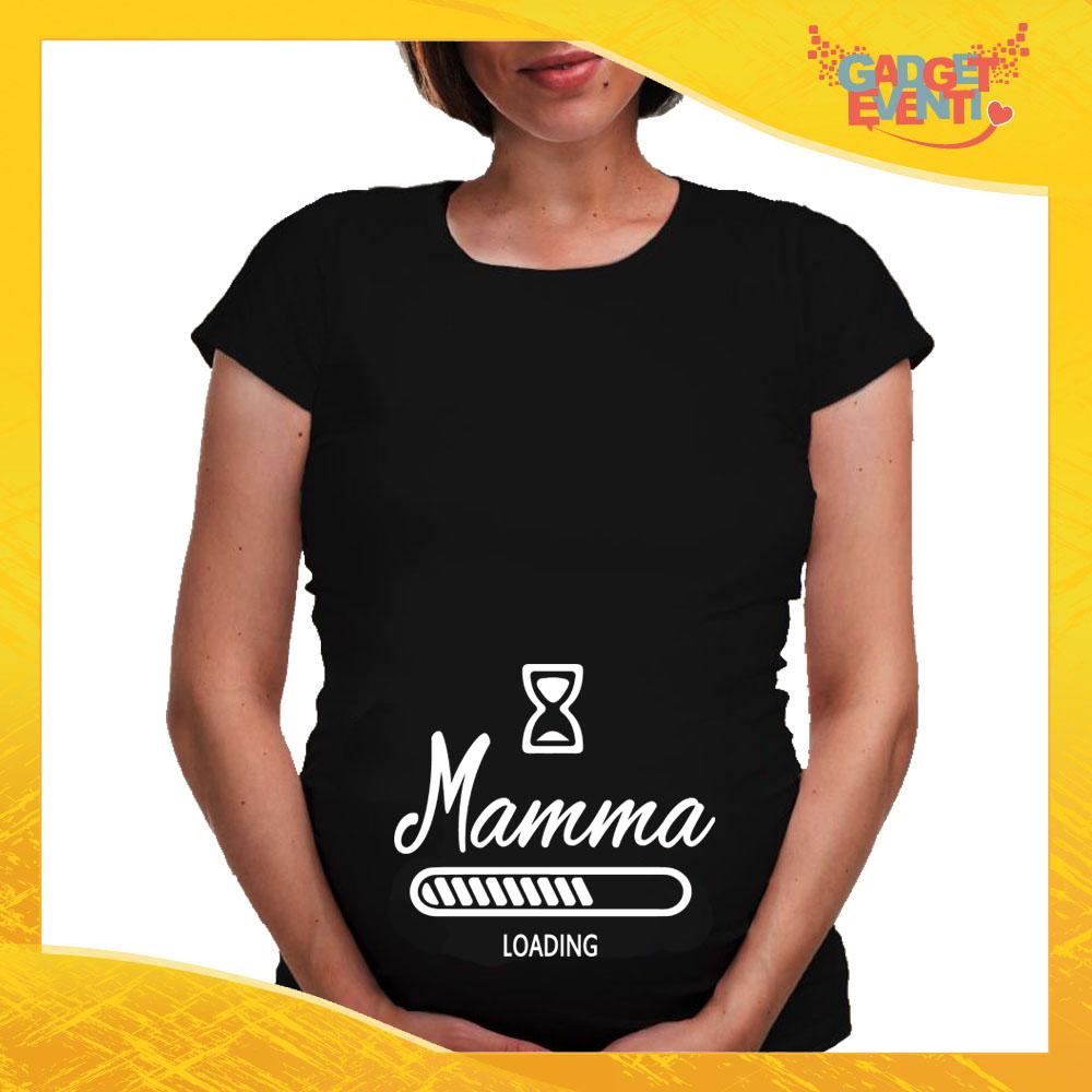Magliette Larghe Premaman Personalizzate Prenatal Gravidanza a Manica Lunga |